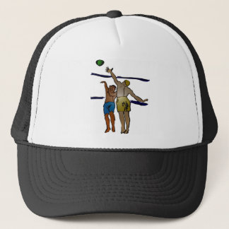 TWO PLAYERS TRUCKER HAT