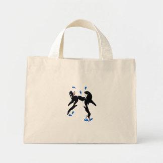 Two Playful Orcas Bag