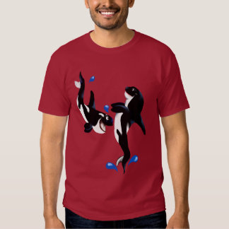 Two Playful Orcas T-Shirt