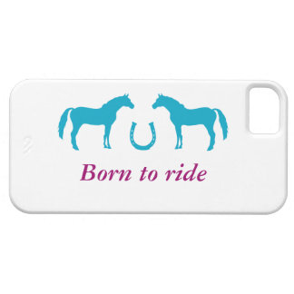 Two ponies and a horseshoe case for iPhone 5/5S