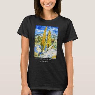 Two Poplars on a Hill Vincent van Gogh T-Shirt