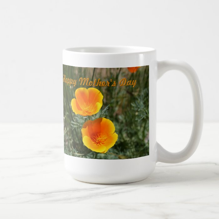 Two Poppies Mothes Day Mug