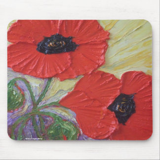 Two Poppies Mousepad