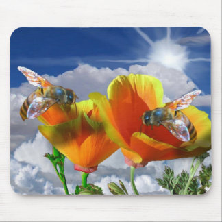 Two Poppies Picture 015 Mouse Pad