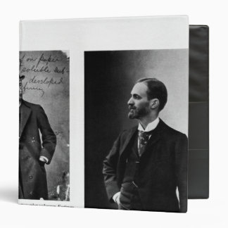 Two portraits of George Eastman  1884 and 1890 Binder