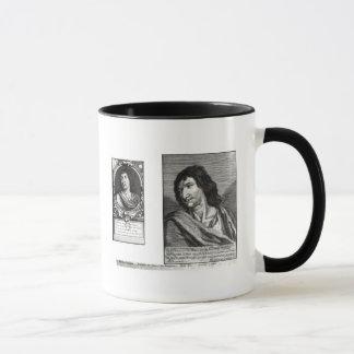 Two portraits of Savinien Cyrano de Bergerac Mug