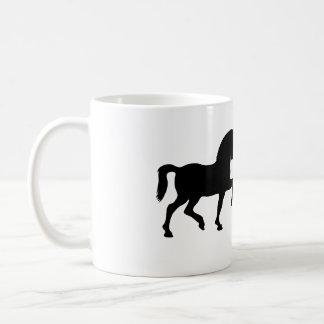 Two precious horses coffee mug