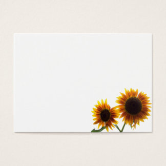 Two Pretty Sunflowers Business Card