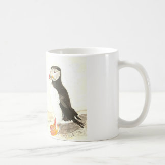 Two Puffins Mug