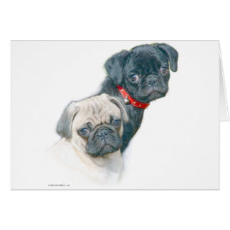 Two Pugs Cards