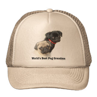 Two Pugs Hats