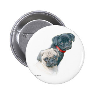 Two Pugs Pins