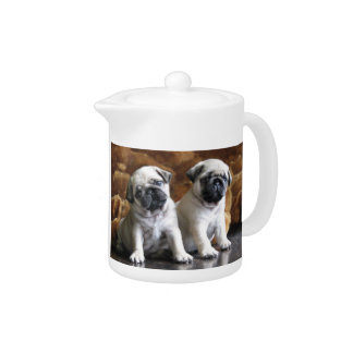Two Pugs Teapot