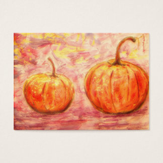 two pumpkins business card