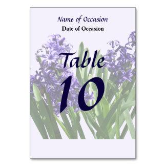 Two Purple Hyacinths Card