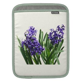 Two Purple Hyacinths Sleeves For iPads