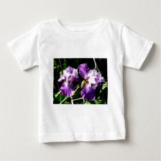 Two Purple Iris Flowers Tshirts