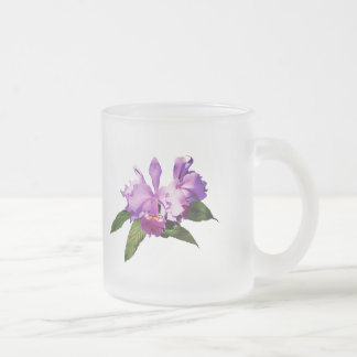 Two Purple Orchids Mugs