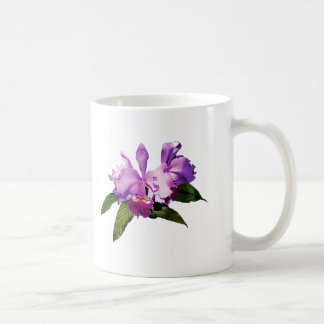 Two Purple Orchids Mug