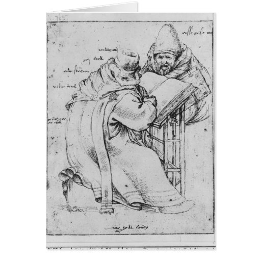 Two Rabbis Greeting Card