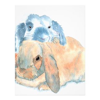 Two Rabbits Letterhead