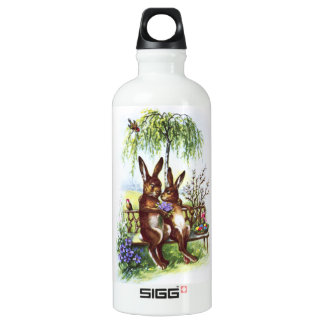 Two Rabbits on a Bench SIGG Traveler 0.6L Water Bottle