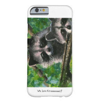 Two Raccoon Bandits iphone 6 Cases Barely There iPhone 6 Case