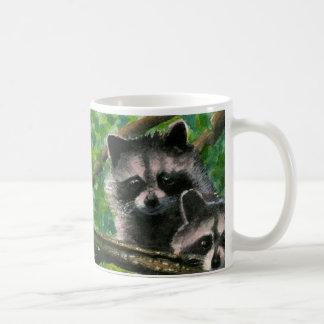 Two Raccoon Bandits Up A Tree Mug