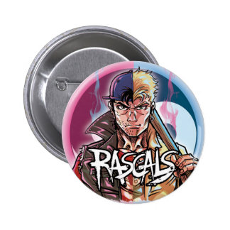 Two Rascals Heroes Pinback Button