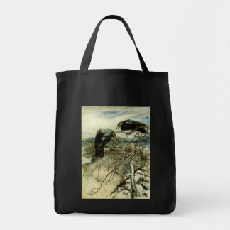 Two Ravens Canvas Bags