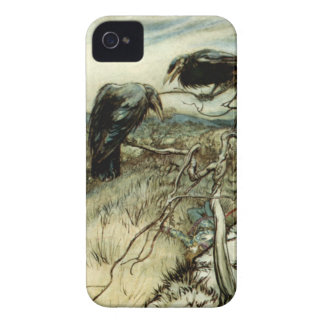 Two Ravens iPhone 4 Case