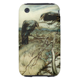 Two Ravens iPhone 3 Tough Cover