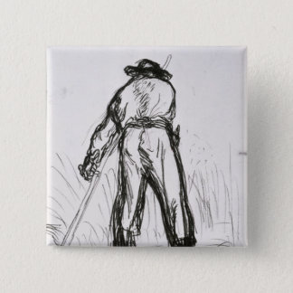 Two Reapers Seen from the Back Pinback Button