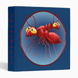 Two Red Ants Avery Binder