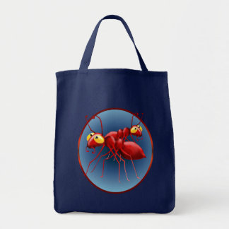 Two Red Ants Circle Bag