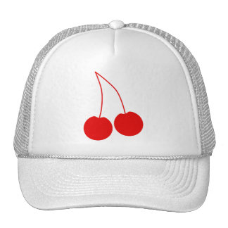 Two Red Cherries. Trucker Hat