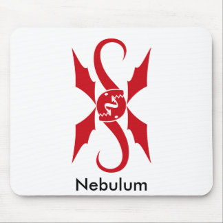 Two Red Dragons Mouse Pad