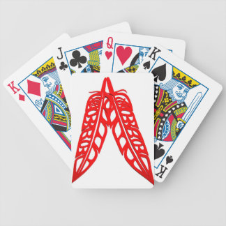 Two Red Feathers.jpg Bicycle Playing Cards