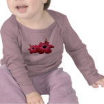 Two Red Hibiscus Kids T-shirt