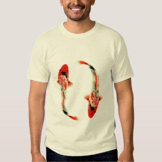 Two Red Koi Tee Shirt