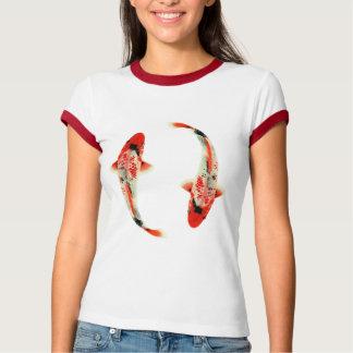 Two Red Koi Tee Shirts