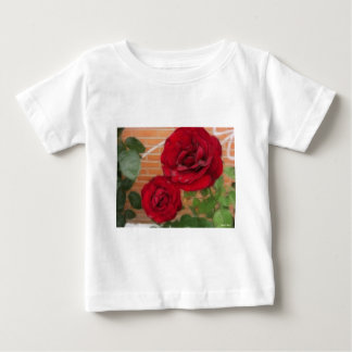 Two Red Roses Baby T-Shirt