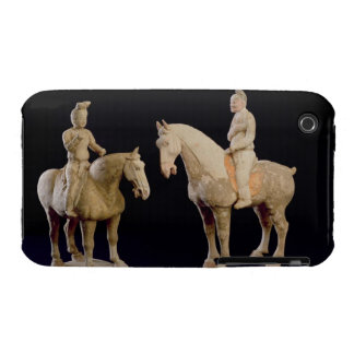 Two Riders, Chinese, Tang dynasty (618-906) (terra iPhone 3 Cover