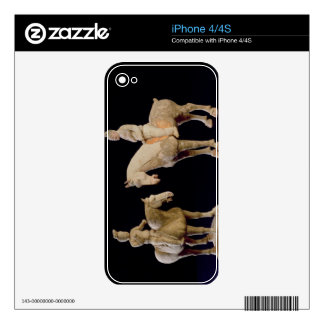 Two Riders, Chinese, Tang dynasty (618-906) (terra Decals For iPhone 4
