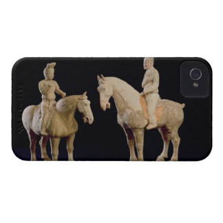 Two Riders, Chinese, Tang dynasty (618-906) (terra iPhone 4 Case-Mate Case
