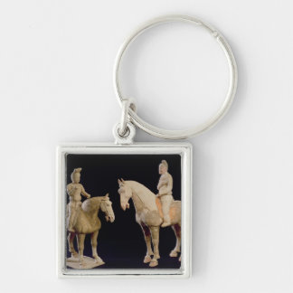 Two Riders, Chinese, Tang dynasty (618-906) (terra Keychain