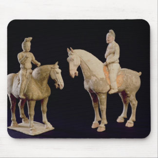 Two Riders, Chinese, Tang dynasty (618-906) (terra Mousepads