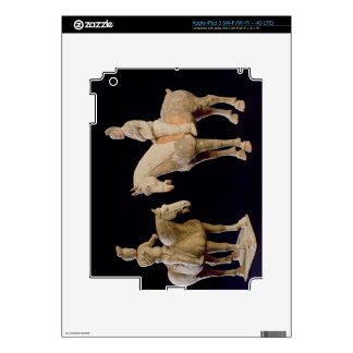 Two Riders, Chinese, Tang dynasty (618-906) (terra Decal For iPad 3