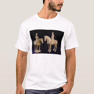 Two Riders, Chinese, Tang dynasty (618-906) (terra T-Shirt