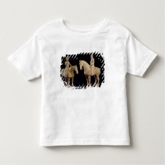 Two Riders, Chinese, Tang dynasty (618-906) (terra Toddler T-shirt